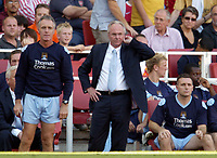 Photo: Olly Greenwood.<br />Arsenal v Manchester City. The FA Barclays Premiership. 25/08/2007. Sven Goran Eriksson see's his side lose for the first time