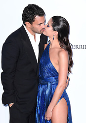 Sara Sampaio and Oliver Ripley attending the 25th amFAR Gala held at the Hotel du Cap-Eden-Roc in Antibes as part of the 71st Cannes Film Festival