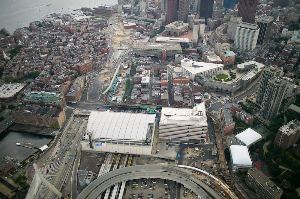 Located on top of North Station, a train station, which was originally a hub for the Boston and Maine Railroad, and today MBTA Commuter Rail and Amtrak trains, the Garden hosted home games for the Boston Bruins and Boston Celtics, as well as rock concerts, amature sports, boxing and wrestling cards, circuses and ice shows. It was also used as an exposition hall for political rallies such as the speech by John F. Kennedy in November, 1960. The Boston Garden was demolished in 1997, a few years after the completion of its new successor arena, the FleetCenter, which is now known as TD Garden.  sited from Wikipedia