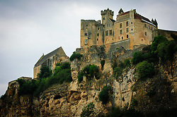 The cliff top castle at La Roque-Gageac, Dordogne, France<br /> <br /> (c) Andrew Wilson | Edinburgh Elite media