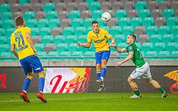 during the match of 11th Round of Prva liga Telekom Slovenije between NK Olimpija Ljubljana and NK Koper, on 07.11.2020 on Stadium Stozice in Ljubljana, Slovenia. Photo by Urban Meglič / Sportida