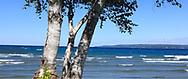 Lake Michigan at Petoskey, Michigan, USA