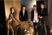 Glam Rock fashion shoot. 8 September 2016