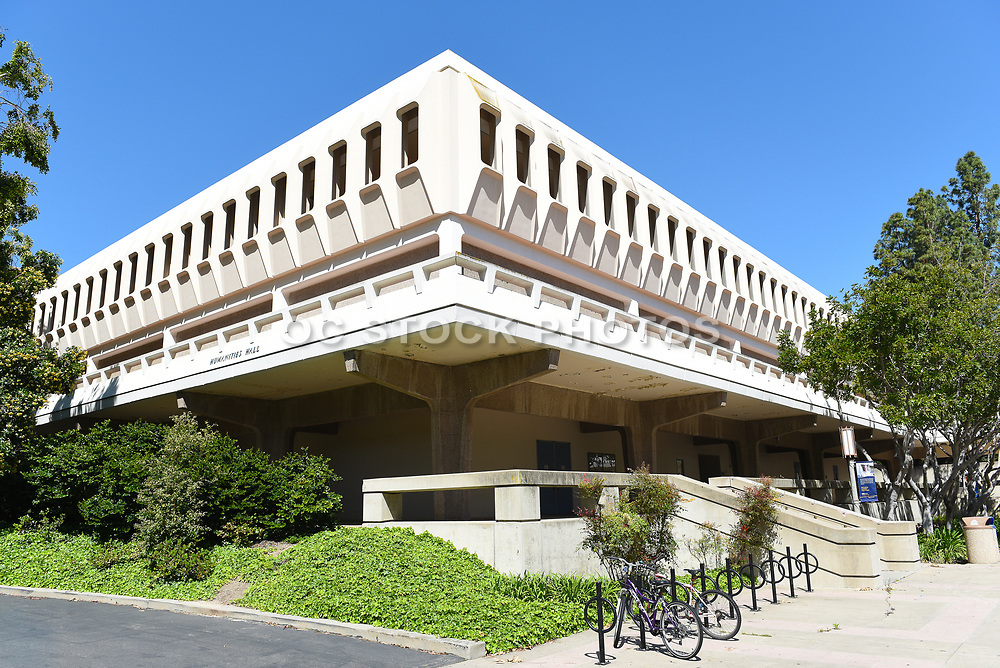 Humanities Hall on the Campus of the University of California Irvine