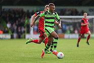 Forest Green Rovers v Barrow 011016