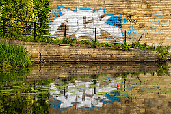 Sheffield & Tinsley Canal Graffiti close to the Attercliffe & Shirland Lane Bridge 8<br /> <br /> 06 September 2020<br /> <br /> www.pauldaviddrabble.co.uk<br /> All Images Copyright Paul David Drabble - <br /> All rights Reserved - <br /> Moral Rights Asserted -