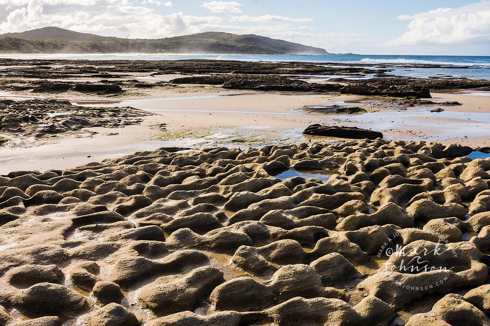 Rock formations, Shelley Head, Yuraygir National Park, NSW, Australia