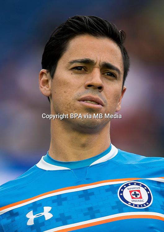 Mexico League - BBVA Bancomer MX 2015-2016 - <br /> La Maquina - Cruz Azul Fc / Mexico - <br /> Fausto Manuel Pinto Rosas