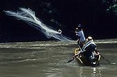 Fishing Hunting Dayak Kelabit Kenyah Indigenous Sarawak
