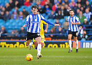 Sheffield Wednesday Midfielder Kieran Lee during the Sky Bet Championship match between Sheffield Wednesday and Leeds United at Hillsborough, Sheffield, England on 16 January 2016. Photo by Adam Rivers.