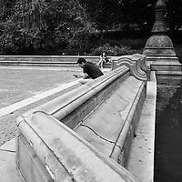 Bethesda Terrace in Central Park, New York City
