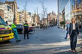 Koningin Maxima bezoekt horecagelegenheden in Amsterdam