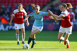 Manchester City's Jill Scott in action during the FA Women's Continental League Cup final at Bramall Lane, Sheffield.