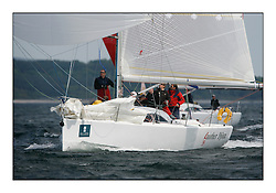 Bell Lawrie Scottish Series 2008. Fine North Easterly winds brought perfect racing conditions in this years event. ..GBR5534R, Another Djinn, N & M Stratton, CCC/RNYC, A35