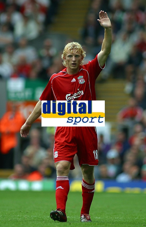 Photo: Paul Thomas.<br /> Liverpool v West Ham United. The Barclays Premiership. 26/08/2006.<br /> <br /> Dirk Kuyt, New Liverpool signing.