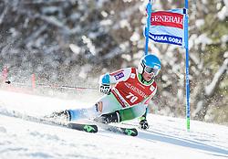 Jakob Spik (SLO) competes during 9th Men's Giant Slalom race of FIS Alpine Ski World Cup 55th Vitranc Cup 2016, on March 4, 2016 in Kranjska Gora, Slovenia. Photo by Vid Ponikvar / Sportida