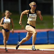 Tamsyn Lewis of Australia winning the Women's 400m in a time of 51.44 at the Sydney Track Classic 2009 held at Sydney Olympic Park Athletics Centre, Sydney, Australia on February 28, 2009.  Photo Tim Clayton