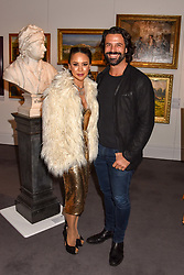Vicky Lee and Christian Vit at the Women for Women International #SheInspiresMe Auction held at Sotheby's New Bond Street, England. 19 November 2018. <br /> <br /> ***For fees please contact us prior to publication***