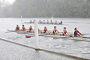Henley, Great Britain, Wet and Raining, opening day of the annual Women's Henley Regatta raced on the River Thames at Henley Reach.  Friday  17/06/2011. [Mandatory Credit Peter Spurrier/ Intersport Images]  2011005398.jpg