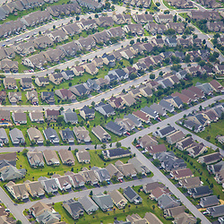 Aerial view of the Penn State Areea of Harrisburg PA DRONE VIEW OF HOUSES