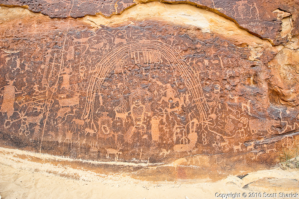 The Rochester Panel Petroglyphs in Utah. Missoula Photographer