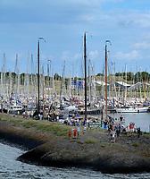 VLIELAND - haven van Vlieland. ANP COPYRIGHT KOEN SUYK