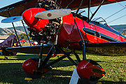 1928 Waco ATO at the 2013 Hood River Fly In at WAAAM.
