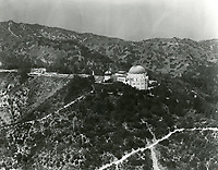 1966 Aerial photo of Griffith Park Observatory