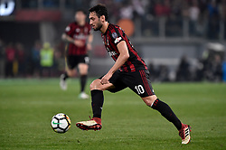 May 9, 2018 - Rome, Italy - Hakan Calhanoglu of Milan during the TIM Cup - Coppa Italia final match between Juventus and AC Milan at Stadio Olimpico, Rome, Italy on 9 May 2018. (Credit Image: © Giuseppe Maffia/NurPhoto via ZUMA Press)