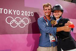 Krajewski Julia, GBR, Roman Pietro ITA<br /> Olympic Games Tokyo 2021<br /> © Hippo Foto - Stefan Lafrentz<br /> 02/08/2021