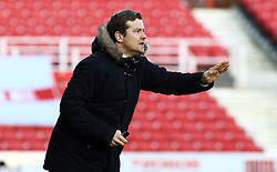 Swindon Town Manager, Mark Cooper issues instructions - Photo mandatory by-line: Joe Dent/JMP - Tel: Mobile: 07966 386802 11/01/2014 - SPORT - FOOTBALL - County Ground - Swindon - Swindon Town v Peterborough United - Sky Bet League One