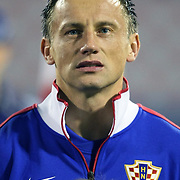 Croatia's Ivica OLIC during their UEFA EURO 2012 Play-off for Final Tournament Second leg soccer match Croatia betwen Turkey at Maksimir stadium in Zagreb November15, 2011. Photo by TURKPIX
