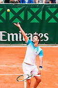 Horacio Zeballos (arg) during the Roland Garros French Tennis Open 2018, day 2, on May 28, 2018, at the Roland Garros Stadium in Paris, France - Photo Pierre Charlier / ProSportsImages / DPPI