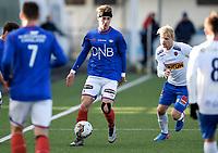 Fotball , 18. mars 2017 ,  Privatkamp , Vålerenga - Sandefjord 4-0<br /> Håkon Lorentzen , Sandefjord<br /> Markus Nakkim , VIF