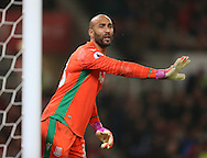 Lee Grant of Stoke City during the English Premier League match at the Bet 365 Stadium, Stoke on Trent. Picture date: December 17th, 2016. Pic Simon Bellis/Sportimage