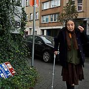 People in Brussels' Molenbeek neighbourhood, a hotbed of Islamic fundamentalism.
