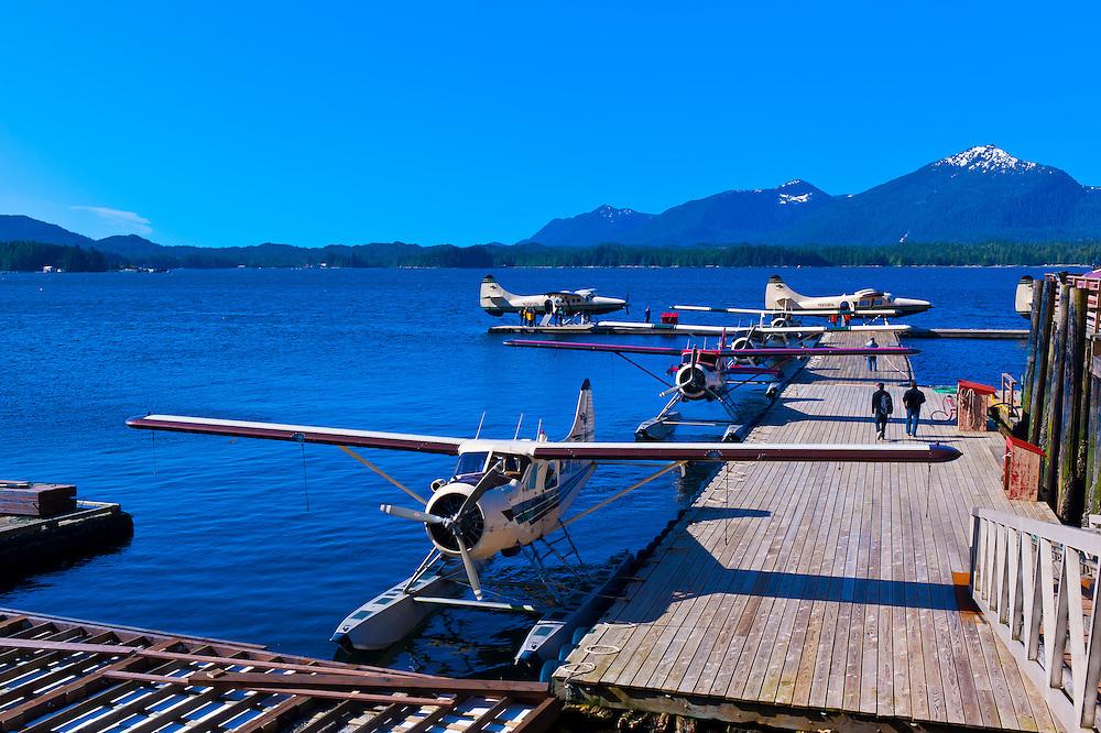 Floatplane base, Ketchikan, Southeast Alaska USA