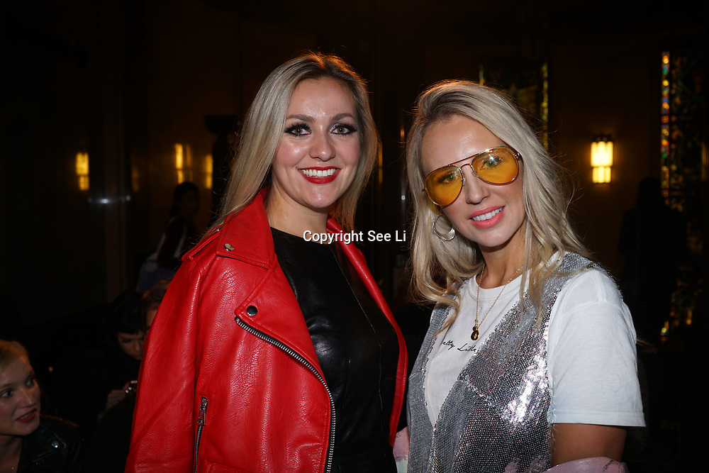 London, England, UK. 17th September 2017.Naomi Isted (R)attends FASHION SCOUT SS18 Day 3 at Freemasons Hall.