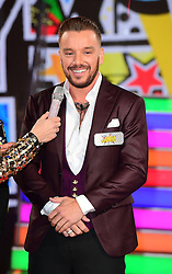 Jamie O'Hara enters the Celebrity Big Brother house at Elstree Studios in Borehamwood, Herfordshire, during the latest series of the Channel 5 reality TV programme.