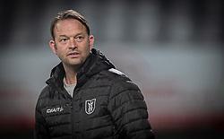 Sportslig ansvarlig Brian Gellert (FC Helsingør) før kampen i 1. Division mellem Viborg FF og FC Helsingør den 30. oktober 2020 på Energi Viborg Arena (Foto: Claus Birch).
