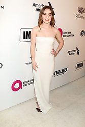 February 24, 2019 - West Hollywood, CA, USA - LOS ANGELES - FEB 24:  Kaitlyn Dever at the Elton John Oscar Viewing Party on the West Hollywood Park on February 24, 2019 in West Hollywood, CA (Credit Image: © Kay Blake/ZUMA Wire)