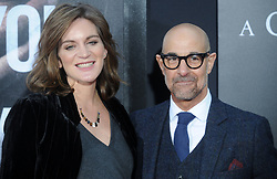Felicity Blunt (L) and Stanley Tucci attending the 'A Quiet Place' New York Premiere at AMC Lincoln Square Theater on April 2, 2018 in New York City, NY, USA. Photo by Dennis Van Tine/ABACAPRESS.COM