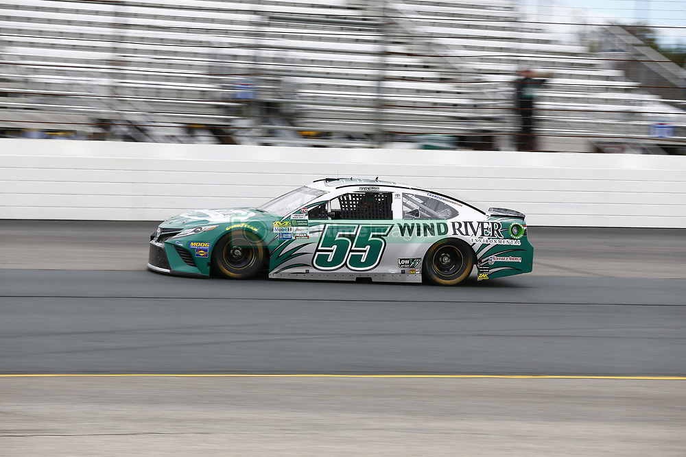 September 22, 2017 - Loudon, New Hampshire, United States of America - September 22, 2017 - Loudon, New Hampshire, USA: Gray Gaulding (55) takes to the track to practice for the ISM Connect 300 at New Hampshire Motor Speedway in Loudon, New Hampshire. (Credit Image: © Justin R. Noe Asp Inc/ASP via ZUMA Wire)