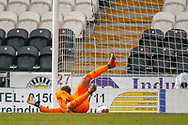 GOAL! - Andrei Savinov slips the ball past the near post of Scotland's Jamie Smith (Hamilton Academical) for the 2nd of the game during the U17 European Championships match between Scotland and Russia at Simple Digital Arena, Paisley, Scotland on 23 March 2019.