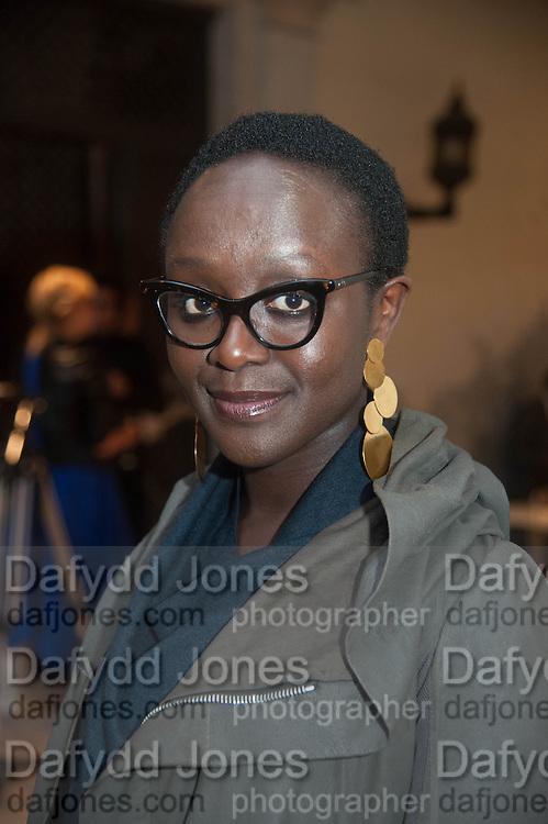 British artist Lynette Yiadom-Boakye, preview of Pinchuk Foundation's Future Generation Art Prize,     Palazzo Contarini PolignacVenice. Venice Bienalle. Thursday 30 May).