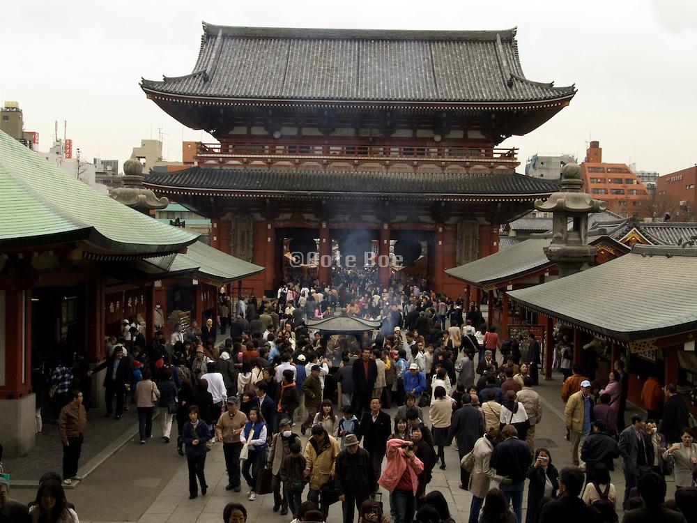 temple gate at the Asakusa Kannon Temple Tokyo