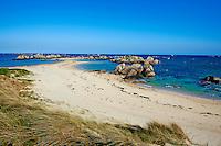 France, Finistère (29), Pays Pagan, Kerlouan, plage de Ménéham // France, Briitany, Finistere, Kerlouan, Meneham beach