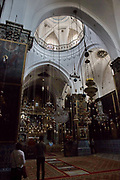 Interior of St James Armenian Church Jerusalem, Israel