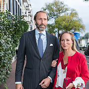 NLD/Amsterdam/20190916 - Prinses Irene viert verjaardag bij een ode aan de natuur, Prinses Margarita de Bourbon de Parme en partner Tjalling ten Cate