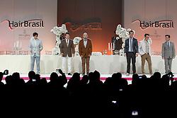 Show Luxe por Intercoiffure Brasil na HAIR BRASIL 2012 - 12 ª Feira Internacional de Beleza, Cabelos e Estética, que acontece de 24 a 27 de março no Expocenter Norte, em São Paulo. FOTO: Jefferson Bernardes/Preview.com